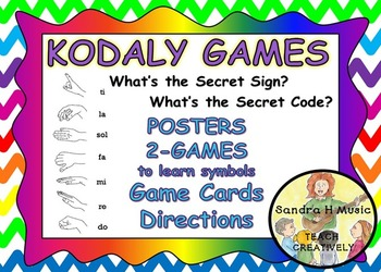Kodaly Music Classroom Game and Decor