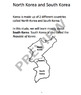 KOREA - Learn About South Korea – 18 Page Student Informat
