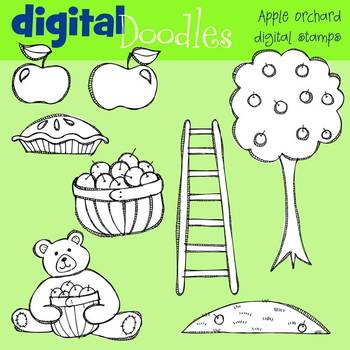 KPM Apple Orchard Stamps