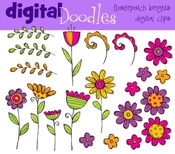KPM Bright Flower Patch