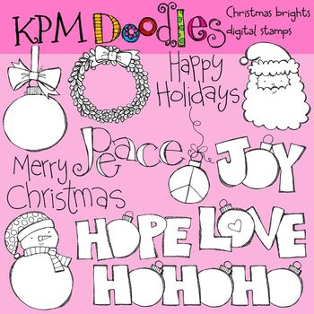 KPM Christmas Brights Stamps