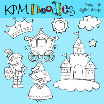 KPM Fairy Tale Stamps