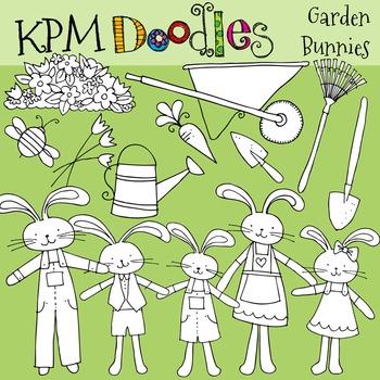 KPM Garden Bunnies Stamps