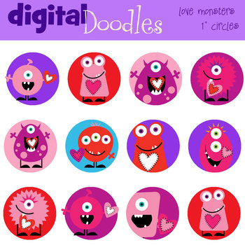 KPM Love Monster circles