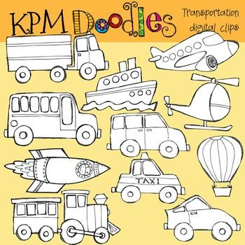 KPM Transportation Stamps