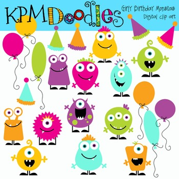 KPM Tropical Birthday  Monsters