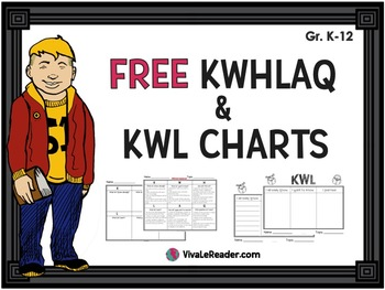 KWL Charts Free- 4 Different Styles