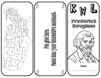 KWL Frederick Douglass