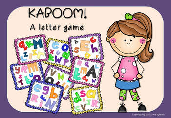 Kaboom! A letter game