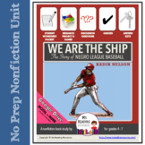 Kadir Nelson We Are the Ship: The Story of Negro League Ba