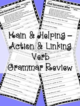 Kagan - Find Someone Who: Verb Grammar Review