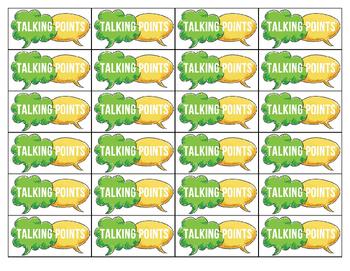 Kagan Strategy:  Talking Points