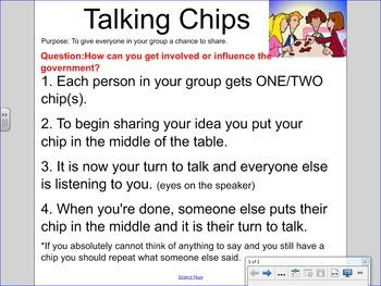 Kagan Talking Chips Smartboard