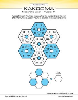 Kakooma Addition Pro Laminates Moderate 7x7
