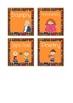 Kandinsky Inspired Dotted Genre Basket Labels