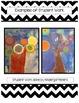 Art Lesson: Kandinsky Inspired Trees