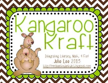 Kangaroo Kraft Freebie
