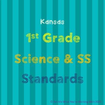 Kansas 1st Grade Science & Social Studies Standards