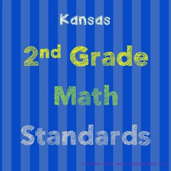 Kansas 2nd Grade Math Standards