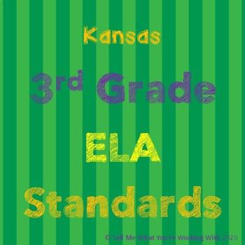 Kansas 3rd Grade ELA Standards
