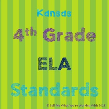 Kansas 4th Grade ELA Standards