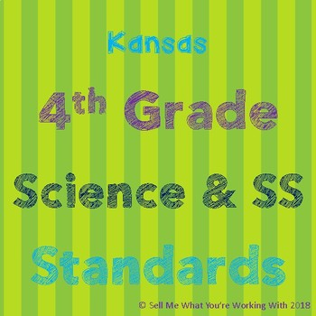 Kansas 4th Grade Science & Social Studies Standards
