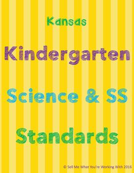 Kansas Kindergarten Science & Social Studies Standards