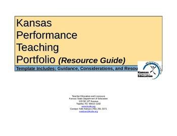 Updated: Spring 2017 Kansas Performance Teaching Portfolio
