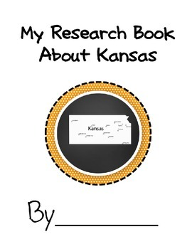 Kansas Student Research Book