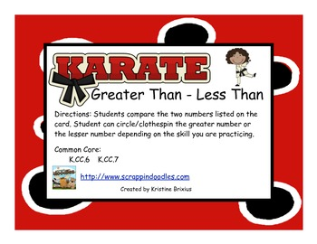 Karate Greater Than - Less Than