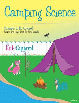 Kat and Squirrel Go Camping - Sound and Light Unit for Fir