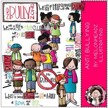 Melonheadz: Anti Bullying clip art - COMBO PACK