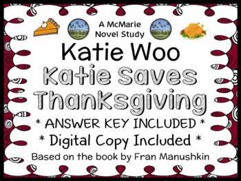 Katie Woo: Katie Saves Thanksgiving (Fran Manushkin) Novel