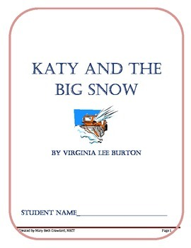 Katy and the Big Snow (Comprehension and Written Response