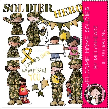 Katy's Welcome Home Soldier by Melonheadz COMBO PACK