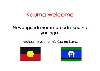 Kaurna Welcome