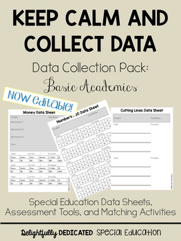 Keep Calm and Collect Data, Data Collection Pack 1, Basic