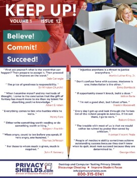 Keep Up! Issue 12  -  Motivate Your Students
