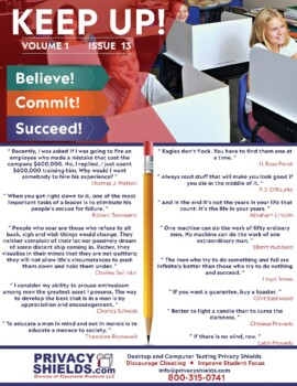 Keep Up! Issue 13  -  Motivate Your Students