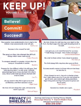 Keep Up! Issue 2  -  Motivate Your Students