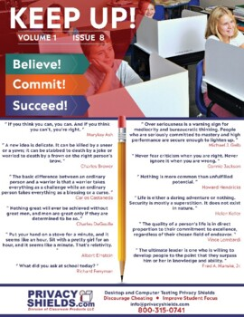 Keep Up! Issue 8  -  Motivate Your Students