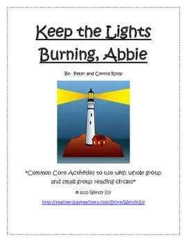 Guided Reading---Keep the Lights Burning, Abbie--- Literac
