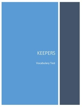 Keepers Vocabulary Test
