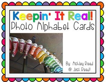 Photo Alphabet Cards