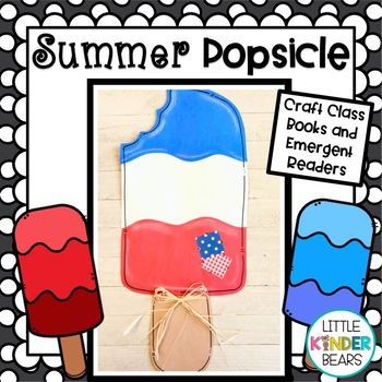 Keepin' Cool  Popsicle Art: Craft, Writing and Graph Activ