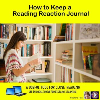 Keeping a Reading Reaction Journal Google Drive Digital Resource
