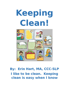 Keeping Clean Interactive Social Story