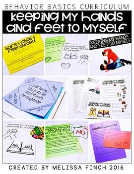 Keeping My Hands and Feet to Myself- Behavior Basics Program