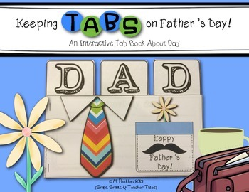 Keeping Tabs on Father's Day FREEBIE {Interactive Tab Book