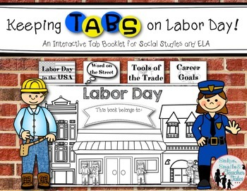 Keeping Tabs on Labor Day {Interactive Tab Book for Social